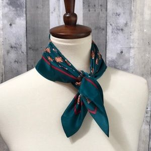 J.crew new with tags rich green neckerchief